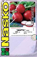 Семена редиса Марта 100 г. Nasko