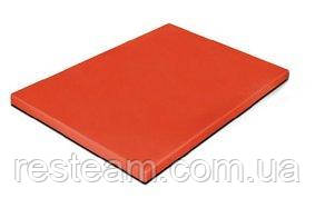 """470115 Дошка обробна червона 1/1, 530*325*15 мм, серія """"Resto line"""""""