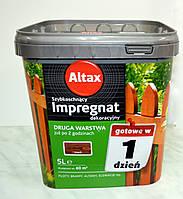 IMPREGNAT быстросохнущее декоративное средство для обработки древесины Altax (5 л)