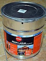 PROFI-LASUR  декоративное защитное средство для древесины с пчелиным воском Altax (9 л), фото 1