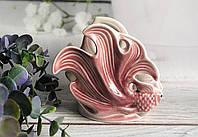 Салфетница Керамклуб Две рыбки розового цвета, фото 1
