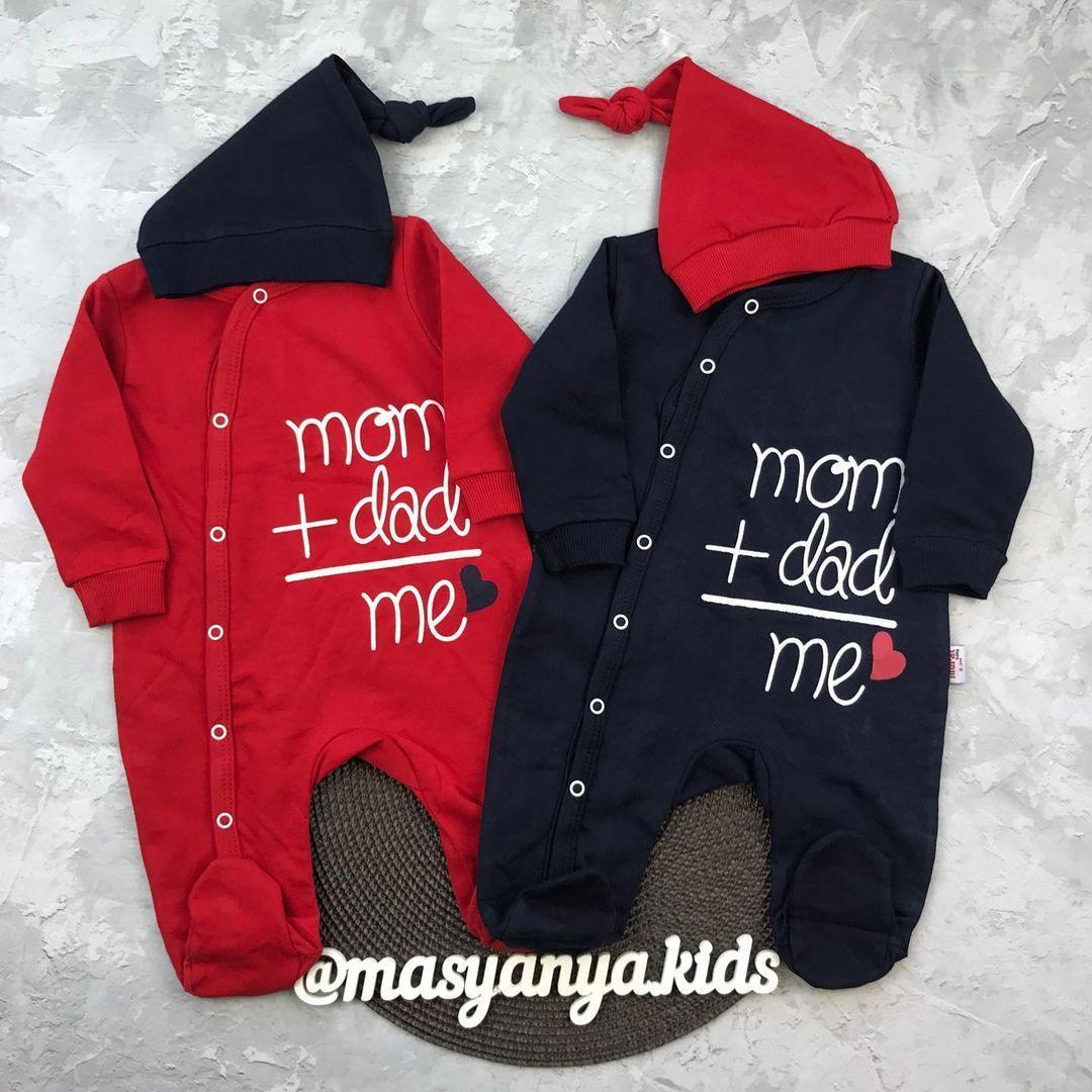 Ромпер mom+dad