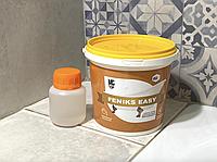 Краска акриловая для реставрации стальных ванн Fеniks Easy 800г Белая, bobi