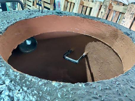 Сепаратор нафти до 2 л/з, залізобетонний сепаратор нафтопродуктів з коалесцентним фільтром і байпасом, фото 2