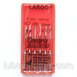 Ларго (LARGO,Maillefer)Развёртки для анкеров (1.2.3.4.асорти)