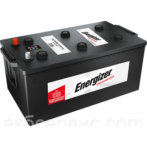 Акумулятор автомобільний Energizer 6СТ-220 Commercial EC5