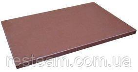 """470615 Дошка обробна коричнева 1/1, 530*325*15 мм, серія """"Resto line"""""""