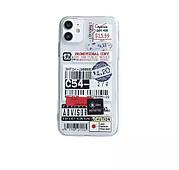 Силіконовий чохол з принтом iphone 11