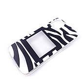 Силіконовий чохол iphone 11 принт зебри