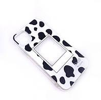 Силиконовый чехол iphone 11 принт коровы