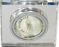 Точечный светильник Feron 8170-2 серебро, фото 1