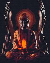 Картина за номерами космічні легенди 40х50 Будда