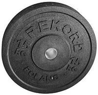 Бамперный диск REKORD 15 kg