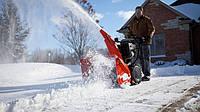 Снегоуборщик для уборки снега возле дома и дачи