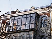 Остекление квартиры в доме старинной застройки