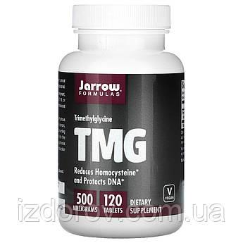 Jarrow Formulas, ГММ, Тріметілгліцін (безводний бетаїн) 500 мг, 120 таблеток