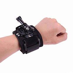 Крепление - перчатка для камеры на руку или кисть Черный R0543, КОД: 1636620