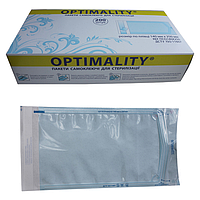 Пакеты для стерилизации (самоклеющиеся), 200 шт, 90 мм х 165 мм, OPTIMALITY.