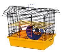 """Клетка """"Вагончик"""" для мелких грызунов, 33х23х32см, окрашенная"""