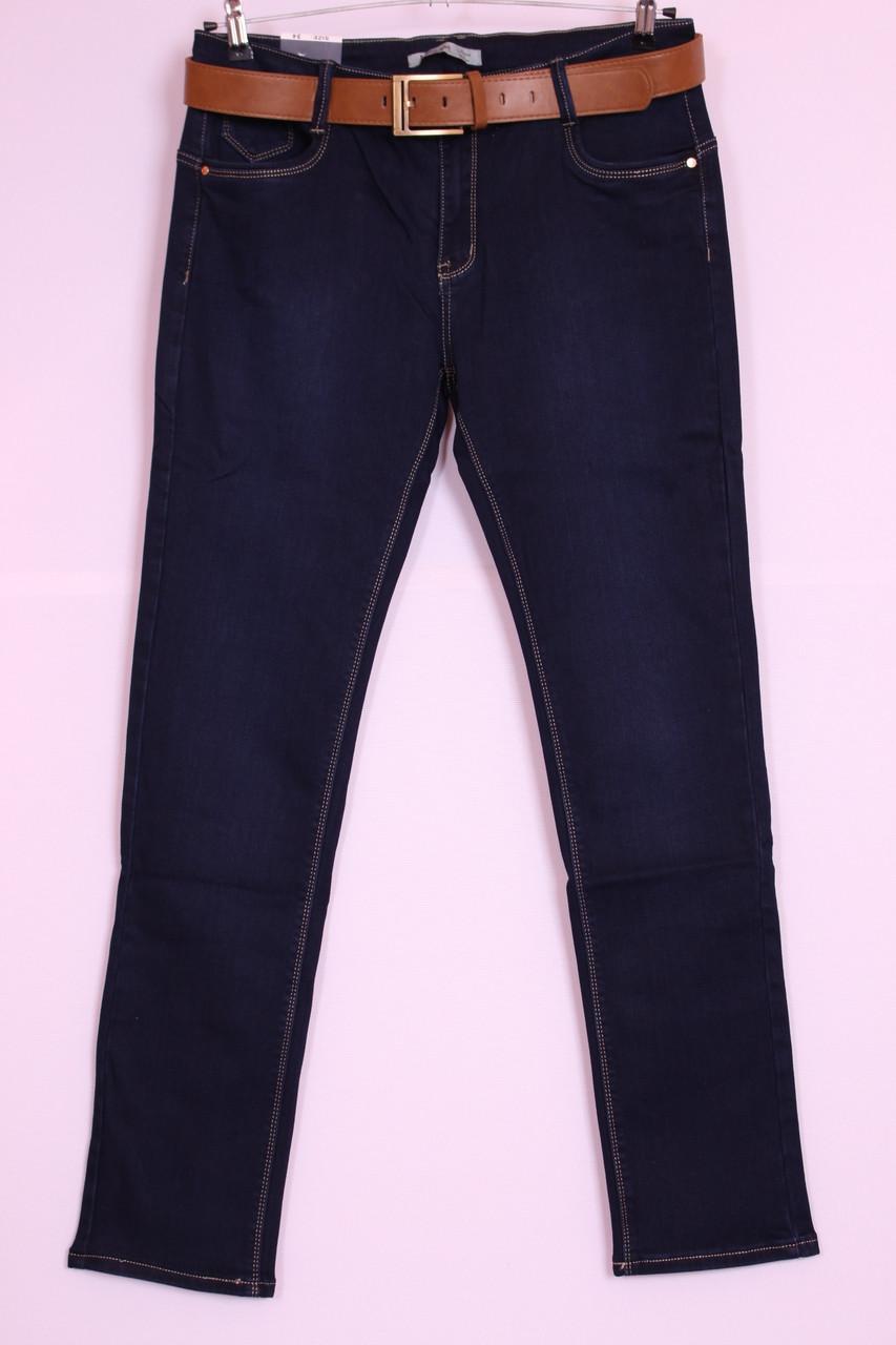 Женские зауженные джинсы Moon girl большого размера ( в наличии 34й размер)