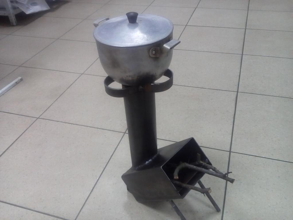 Походная печка - комфорка Малютка
