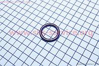 Прокладка глушителя круглая темная медь на скутер 4т 50-100 сс