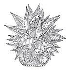 Cactus party. Розмальовка-оазис для творчості і натхнення, фото 4