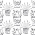 Cactus party. Розмальовка-оазис для творчості і натхнення, фото 5