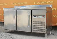 Холодильный стол из нержавеющей стали «Fagor» 1.5 м., (Италия), полезный объём 350 л., Б/у