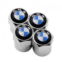 Ковпачки на ніпель для BMW Alitek Short Silver БМВ (4 шт)