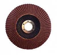 Диск лепестковый плоский А60 WERK 125х22.2 мм