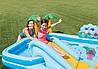 Дитячий ігровий центр Intex 57161 257х216х84см Надувний водний басейн комплекс з гіркою Інтекс з ПВХ, фото 2