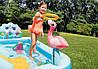Дитячий ігровий центр Intex 57161 257х216х84см Надувний водний басейн комплекс з гіркою Інтекс з ПВХ, фото 3