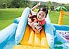 Дитячий ігровий центр Intex 57161 257х216х84см Надувний водний басейн комплекс з гіркою Інтекс з ПВХ, фото 4