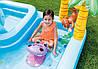 Дитячий ігровий центр Intex 57161 257х216х84см Надувний водний басейн комплекс з гіркою Інтекс з ПВХ, фото 5