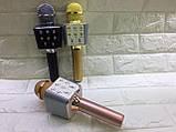 Беспроводной микрофон караоке WSTER WS-1688 с динамиком, Портативный караоке USB микрофон, фото 10