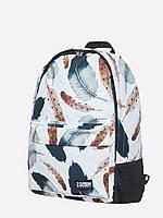 Спортивный городской рюкзак  Feathers белый (рюкзаки молодежные, велосипедный рюкзак, рюкзаки городские), фото 1