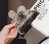 Чохол плюшевий кролик з вушками для Xiaomi Poco X3 NFC, фото 6