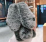 Чохол плюшевий кролик з вушками для Xiaomi Poco X3 NFC, фото 9