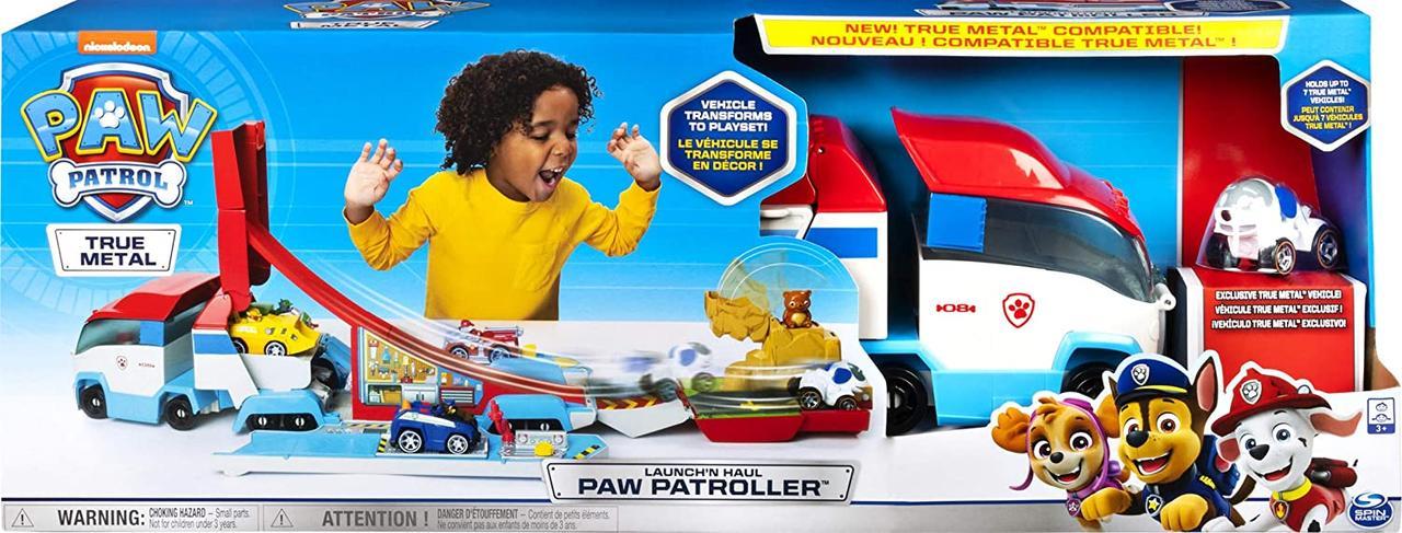 Щенячий патруль патрулевоз у великій коробці трасформер Paw Patrol Patroller