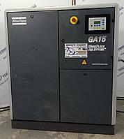 Компрессор винтовой Atlas Copco GA15: 2,68 м3/мин 7,5 бар 15 кВт, фото 1