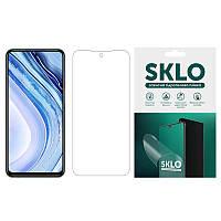 Гидрогель пленка SKLO для Xiaomi Mi Note 10 Lite(2020)матовая анти-отпечатки на весь экран