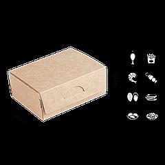 Упаковка для суши без окна 120х85х50мм