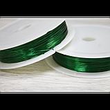 Дріт 30 м зелена, фото 2
