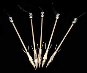 Стрелы дротики для охоты за рыбой для боуфишинга металлические (Тип 1)