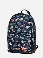 Спортивный городской рюкзак  Sneakerhead черный (рюкзаки молодежные, велосипедный рюкзак, рюкзаки городские)