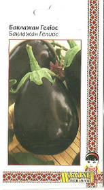 Семена Баклажан Гелиос 0.5г Фиолетовый (Малахiт Подiлля)