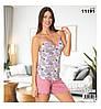 Пижамы женские летние из вискозы 11191