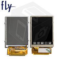 Дисплейный модуль (дисплей + сенсор) для Fly 2080, оригинал
