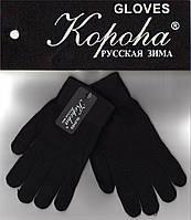 """Шерстяные перчатки женские  с начёсом внутри ТМ """"Корона""""  ПЖЗ-1528"""